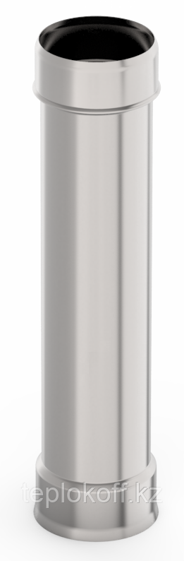 Труба ф 80, 1,0м, нержавейка, 0,5мм
