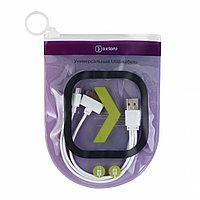 OXION UCC002 Универсальный зарядный кабель, -USB 2,0 (M) - 30-pin/Micro-USB (M), 20cм, белый