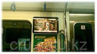Видео реклама в вагонах