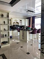 Кухонный гарнитур мдф крашенный со столешницей из искусственного камня, фото 3