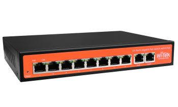 Коммутатор PoE Wi-Tek WI-PS308G, фото 2