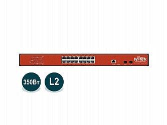 Коммутатор PoE Wi-Tek WI-PMS318GF, фото 2