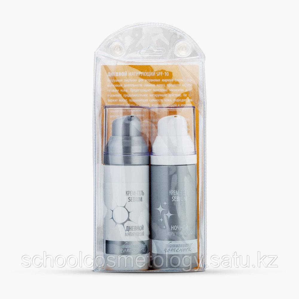 Крем-гель для жирной кожи лица Sebium (день+ночь), 2х30 мл - фото 3