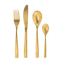 Набор столовых приборов «Золото» из нержавеющей стали, 24 предмета.