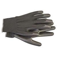 Перчатки с полиуретановым покрытием размер 10 черн. (пара) HAUPA