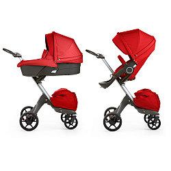 Детская коляска 2 в 1 DSLAND V6 RED