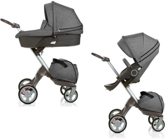 Детская коляска 2 в 1 DSLAND V4 GREY
