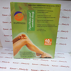 Токсиновыводящий Пластырь - Хаппинесс ( 10 шт )
