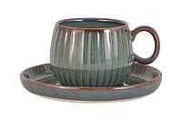 """Чашка с блюдцем """"Comet"""" 0,18л (мор.волна) в инд.упаковке.Julia Vysotskaya (Юлия Высоцкая)"""