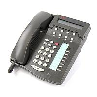 AVAYA TELSET 6408D+ Gray New,Цифровой системный телефон,серый, Б.У.
