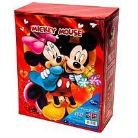 Набор из двух фотоальбомов в твёрдом боксе MICKEY MOUSE [320 фото 10х15] (Красный)