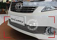 Хром решетка нержавейка на Camry V50 2011-14