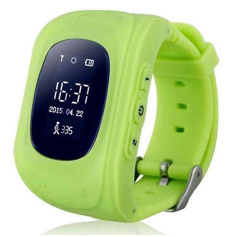 Умные часы для детей с GPS-трекером Smart Baby Watch Q50 (Салатовый)
