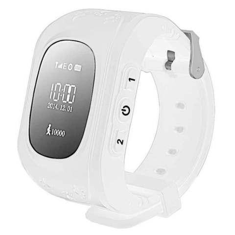 Умные часы для детей с GPS-трекером Smart Baby Watch Q50 (Белый)
