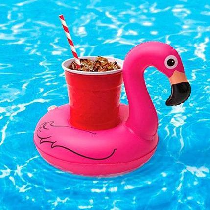 Подставка-круг надувная для напитков «Фламинго», фото 2