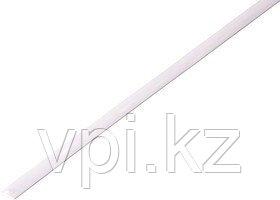 Термоусадочная трубка - черная 25/12.5м 1м REXANT  Белый