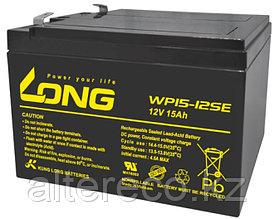 Тяговый аккумулятор LONG WP15-12SE (12В, 15Ач) (аналог 6-DZM-12)