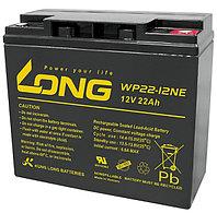 Тяговый аккумулятор LONG WP22-12NE (12В, 22Ач), фото 1