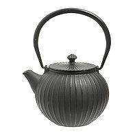 Чугунный чайник 1,1 л. Черный.