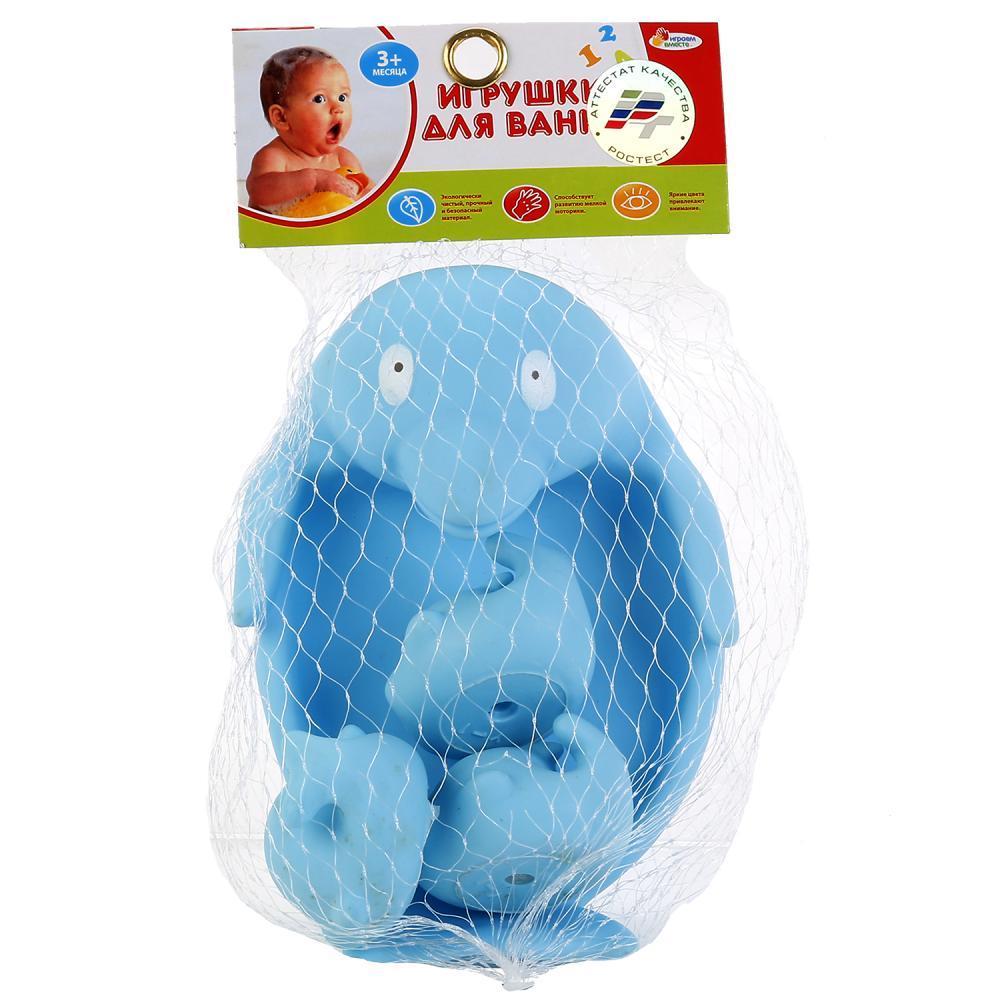 IV. Игрушка для ванной «Дельфин-мыльница» с малышами