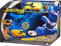 Дикий Скричер игрушка Пускатель для дисков и машинка-трансформер, фото 1