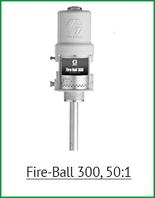 Поршневой насос Fire-Ball 300, 50:1