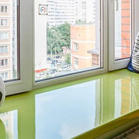 Цветные подоконники, фото 1