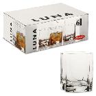 Набор стаканов для виски Pasabahce Luna 360 мл (6 шт), фото 2