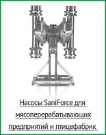 Насосы SaniForce для мясоперерабатывающих предприятий и птицефабрик