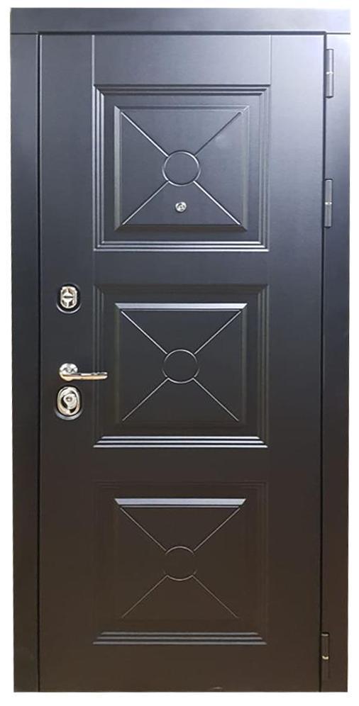 Входная металлическая дверь Шведа белая