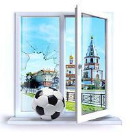 Замена стеклопакета в окне, фото 1