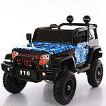 Электромобиль детский джип с надувными колесами JEEP BLF-119, фото 2