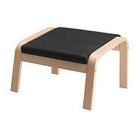 Подушка-сиденье ПОЭНГ на табурет для ног ИКЕА, IKEA