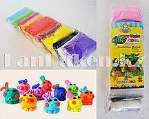 Набор для творчества легкий пластилин ClayDoll 12 цветов с ножами и пакетиками