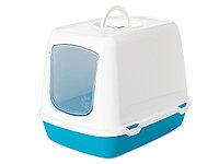Био-Туалет для кошек Savic Oscar (бело-синий)