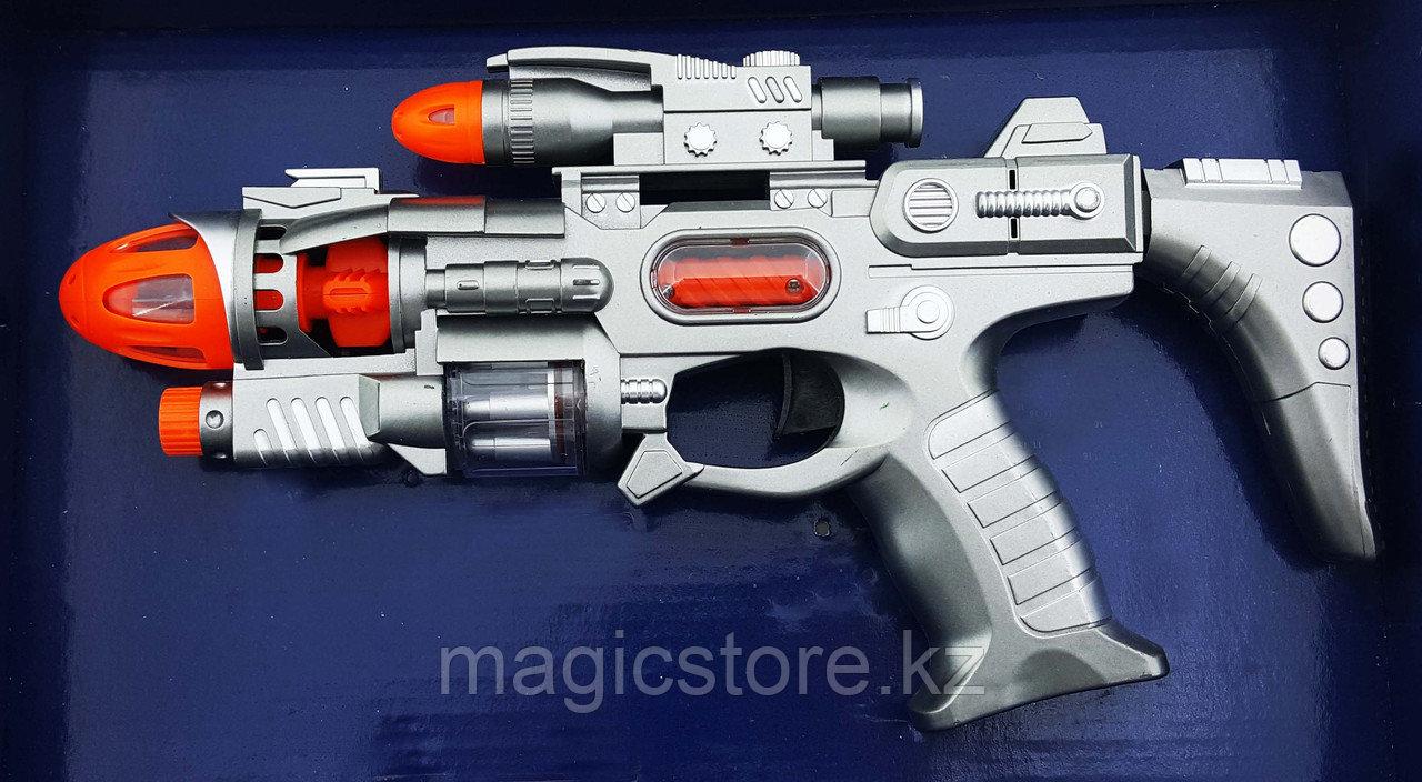 Space Defender Пистолет, Космическое оружие, Световые и звуковые эффекты YH3102-12 - фото 1