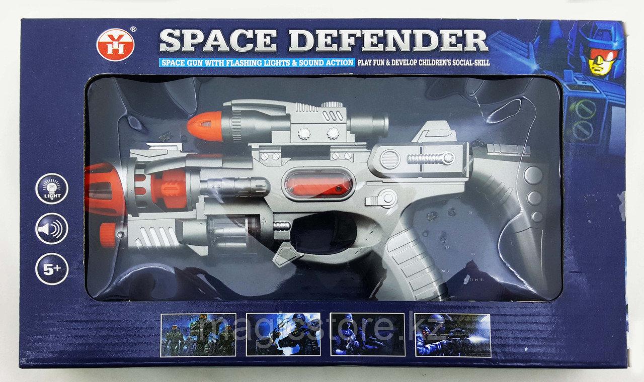 Space Defender Пистолет, Космическое оружие, Световые и звуковые эффекты YH3102-12 - фото 2