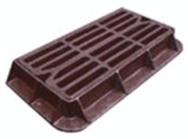 Дождеприемный люк чугунный канализационный, тип-ТМ CT-KZ