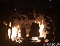Каминная чаша Ёжик в тумане, фото 1