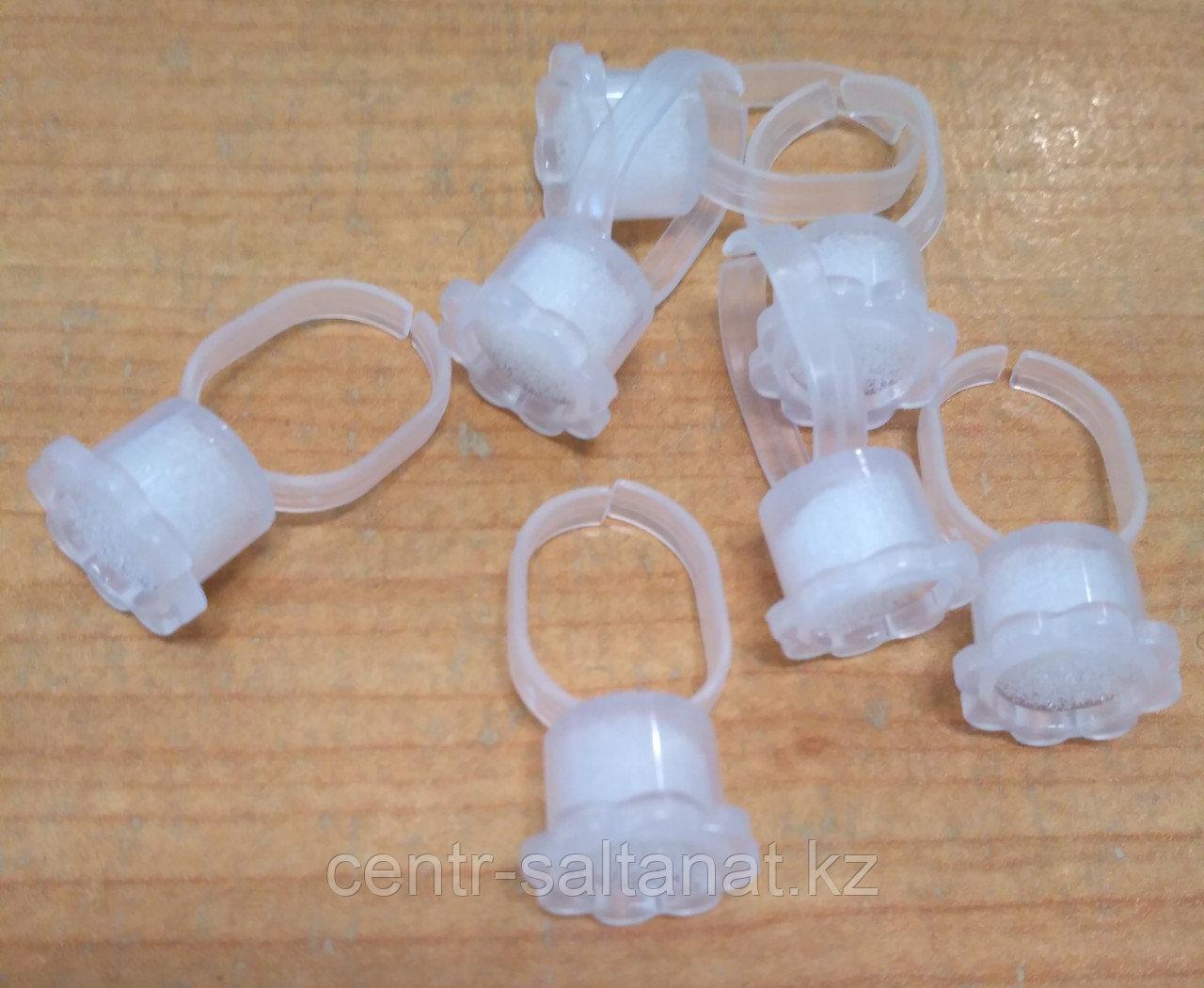 Контейнер ромашка кольцо с губкой для пигментов