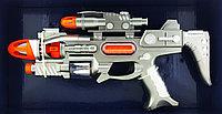 Space Defender Пистолет, Космическое оружие, Световые и звуковые эффекты YH3104-3