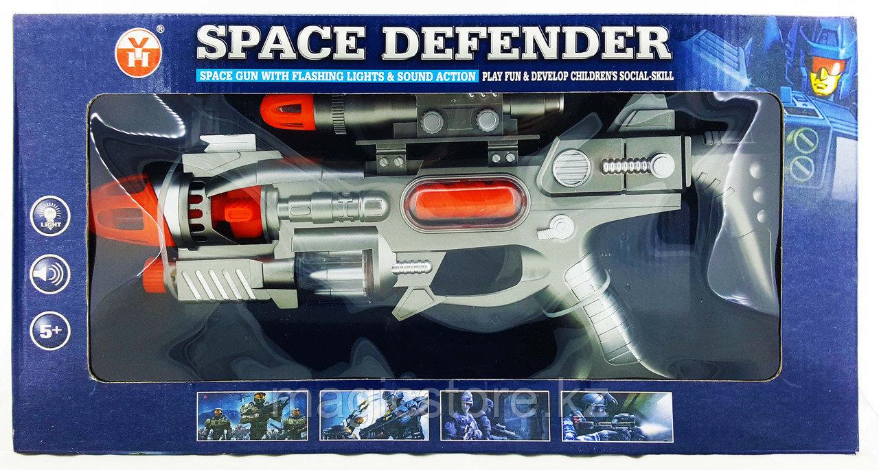Space Defender Пистолет, Космическое оружие, Световые и звуковые эффекты YH3104-3 - фото 2