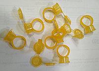 Контейнер кольцо с крышкой желтое для пигментов