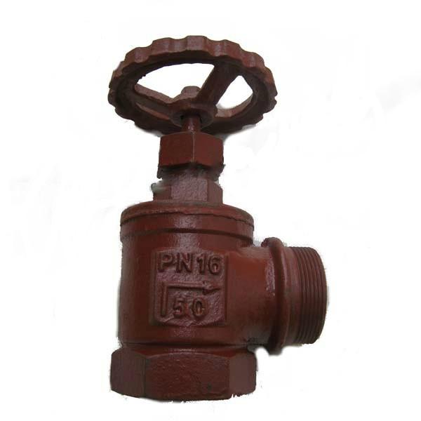 Клапан пожарный муфтовый и цапкой сальниковый 15кч11р