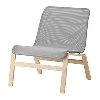 Кресло НОЛЬМИРА серый ИКЕА, IKEA  , фото 1