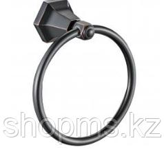 Полотенцедержатель кольцо OUTE TG2306 чёрная бронза
