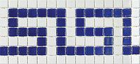 Бордюр из стеклянной мозаики Cenefa 1