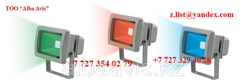 Прожектор светодиодный 50 W софит Цвет; синий,зеленый,красный,желтый