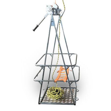 Устройство для выполнения работ на поддерживающих гирляндах СМ-150 ВЛ 110÷750 кВ
