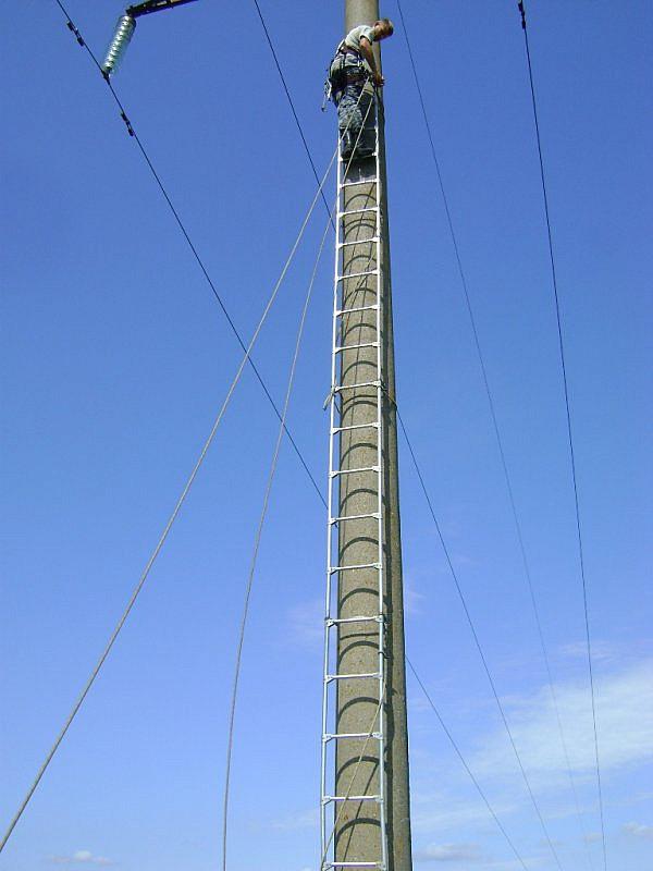 Лестница монтажная ЛМСС-2В